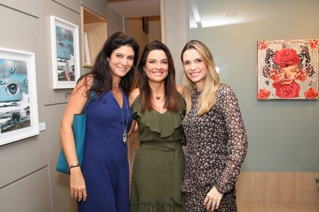 Adriana Quattrone, Andrea Magalhães Lins e Ana Paula Cola