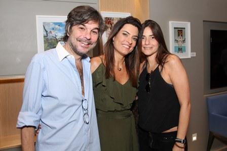 Kim, Andrea Magalhães Lins e Carol Velloso