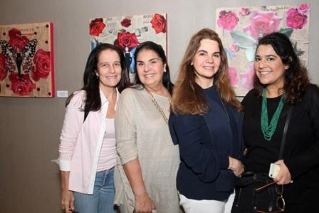 Lika Maciel, Carmen Colombo, Cristiana Magalhães e Luciana Conde