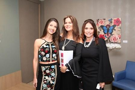 Paula Dias, Flavia Curvello e Rita Moreira