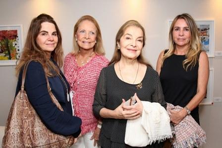 Cristiana Magalhães Lins, Maria Da Glória Antice, Nininha Magalhães Lins e Daniela Maia