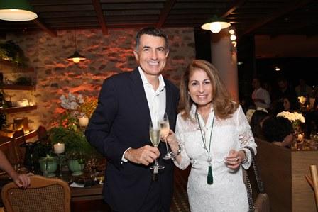 Christophe Lorvo e Cristina Lips
