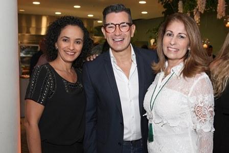 Rosangela Feitosa, Marcelo Hicho e Cristina Lips