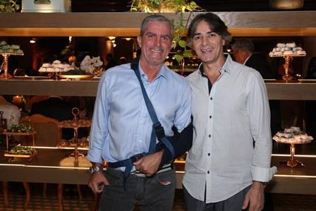 Murilo Carvalho e Mario Paes