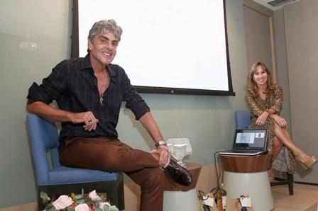 Manoel Thomaz Carneiro e Andrea Rudge