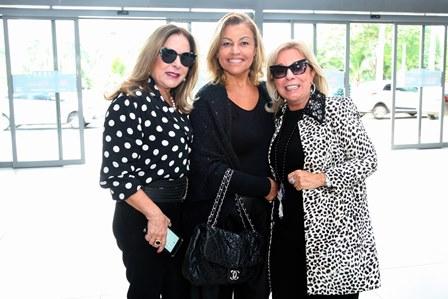 Dirce Motta, Valeria Cabral e Viviane Cohen