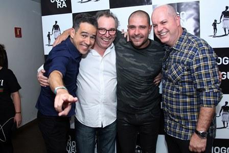 Afonso Carvalho , Jorge Lopes,Diogo Nogueira, Marcelo Castello Branco