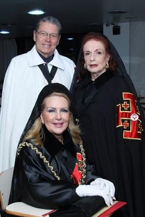 Isis Penido,  Eliana Moura e Fernando Bicudo