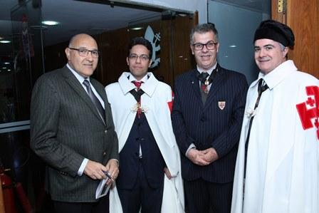 Luiz Carlos Pugialli, Vitor Pereira, Dauro Machado e Marcos Araujo