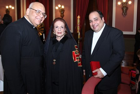 Padre Jorjão,Eliana Moura e Padre Omar Raposo