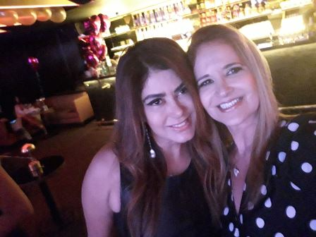 Ana Lúcia Santana e Gisela Markenson