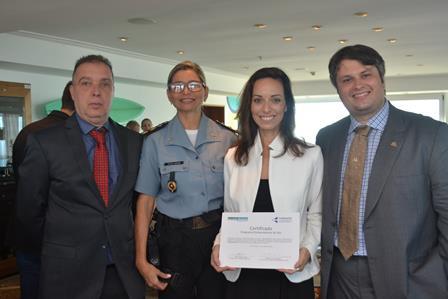 Bayard Boiteux,Cel Luciana Oliveira,Claudia Mota e Claudio Castro