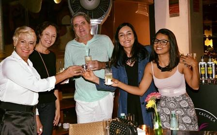 Cláudia Monteiro, Jeanny Leyendecker, Alexandre Magno, Cacau Dias e Áliqui Sodré