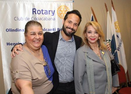 Cleonice Datum, Marcelo Calero e Olindina Régis