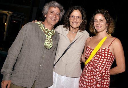 Ernesto Neto , Zélia Duncan e Louise Botkay