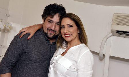 Pedro Garrafa   e  Flavia Garrafa