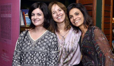 Isabel De Luca , Daniella Cavalcanti e Vanessa Cardoso