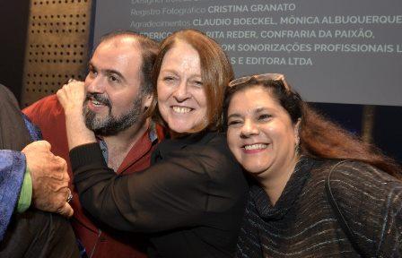 Claudio Mendes , Norma Thiré e  Bianca de Felippes