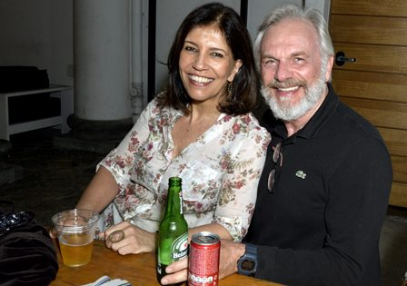 Tereza Frota e Henri Pagnocelli