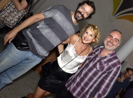 Heitor Martinez , Andreia Veiga e  Saulo Rodrigues