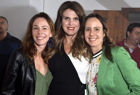 Cristina Turnes , Rocio Durán  e Beatriz Revilha