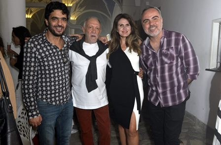 José Karini ,Roberto Frota  , Rocio Durán  e Saulo Rodrigues