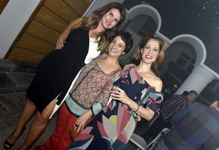 Rocio Durán  , Aline Carrocino e Priscila Vidca