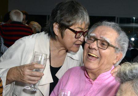 Tizuka Yamazaki e Luiz Carlos Barreto