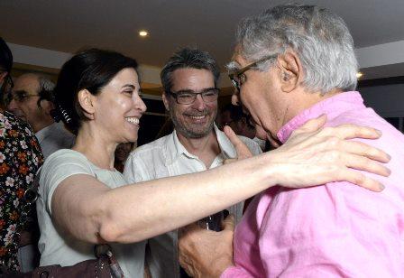 Fernanda Torres , Andrucha Waddington e Luiz Carlos Barreto