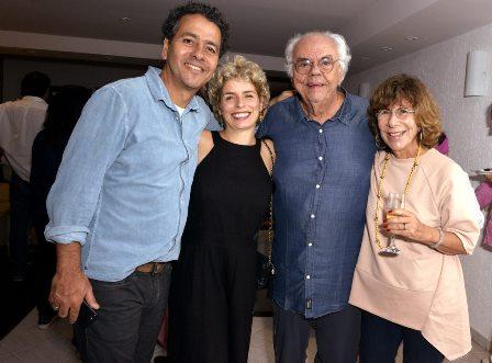 Marcos Palmeira , Gabriela Gastal , Zelito Viana e Vera de Paula