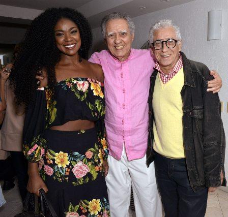Cris Vianna   , Luiz Carlos Barreto e  Neville d'Almeida