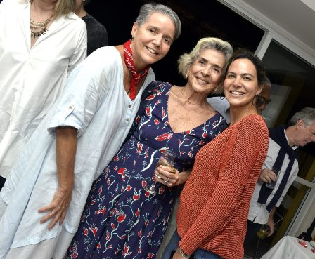 Paula Barreto , Betty Faria e Carol Sampaio