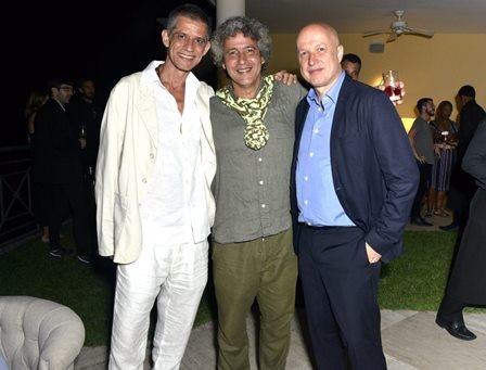 Cabelo , Ernesto Neto e Sam Keller