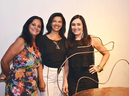 Denise Miranda, Tereza Rodrigues e Cacau Dias