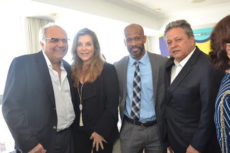 Franklin Toscano,Andrea Repsold,o Consul dos EUA e Claudio Castro