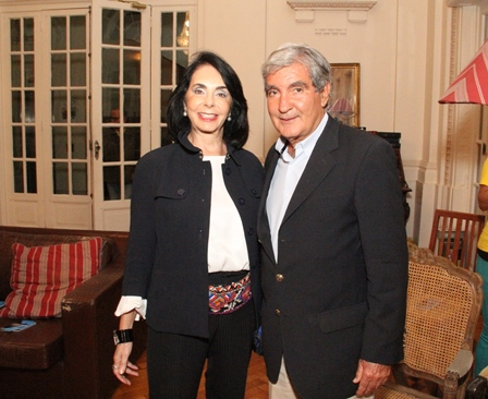 Ignes e Sergio Costa e Silva