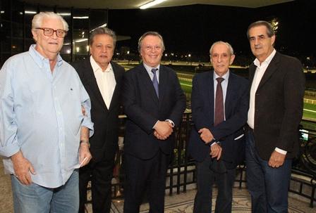 Jack Bell. Aloysio Teixeira,  Gilberto Menezes Cortes e Antonio Afonso