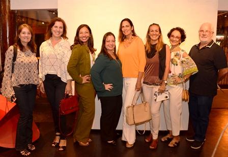 Leila Chaves, Isablle Rodrigues, Verônica Gomes, Andréa Almeida, Adriana Andriole, Mônica Brito, Sylvia Coelho e Roberto Fellows