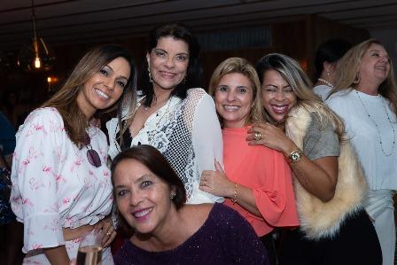 Lu Molina, Rose May Addario, Tayana Ruiz, Adriana Freitas, Shirley Carvalho