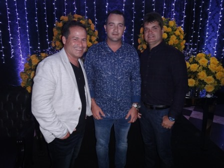 Luciano Guirra, João Lucas e  Eduardo Oliveira