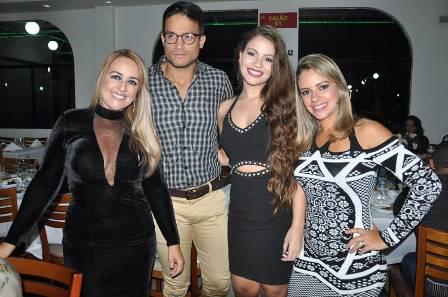 Mailin Pedreira, Victor Lorran, Larissa Lacerda e Priscila Pedreira Vinhas