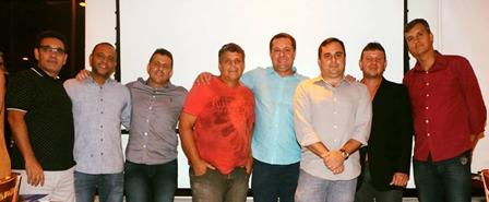 Núcleo AD Dênis Madson, Vander Matta, Ricardo Gomes, Ozéias Araújo, Gilmar Bolsanello, Marcelo Ferreira, Antonio Marques e Fabrício Coutinho