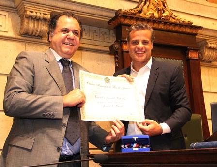 Omar Peres e Leonel Brizola Neto