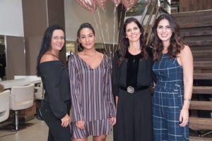 Shirlei Monge Yasmin Monge Angela vaz e Daniella Vaz
