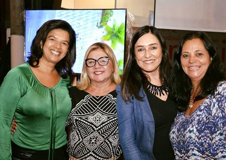 Tereza Pinheiro, Luazi Ribeiro, Cacau Dias e Denise Miranda
