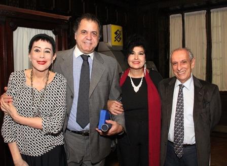 Yacy Nunez Suarez , Omar Peres, Hanna e o vice preid JB Gilberto Menezes Cortes