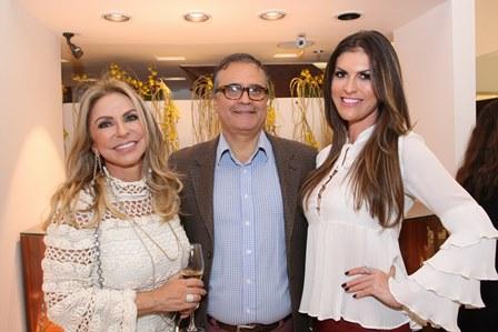 Regina Giacomelli, José Ronaldo Müller e Lunara Campos
