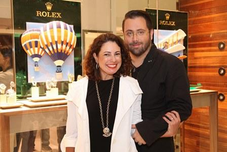 Renata Araújo e Beto Bardawil