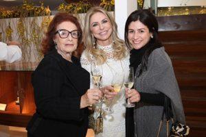 Eliana Moura, Regina Guacomelli e Isabelle Lessa