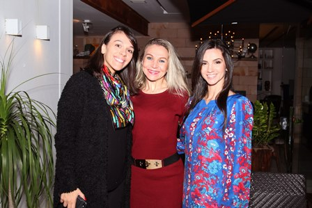 Fernanda Gomes, Michele Vanzella e Mariana Coelho